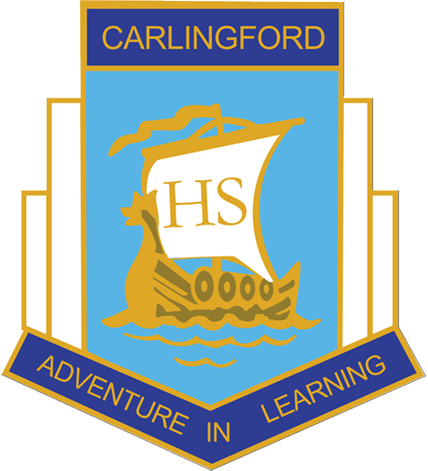 Carlingford High School logo